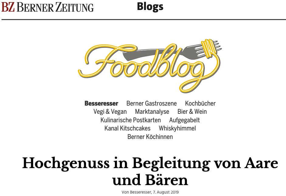 Foodblog BZ 8 2019