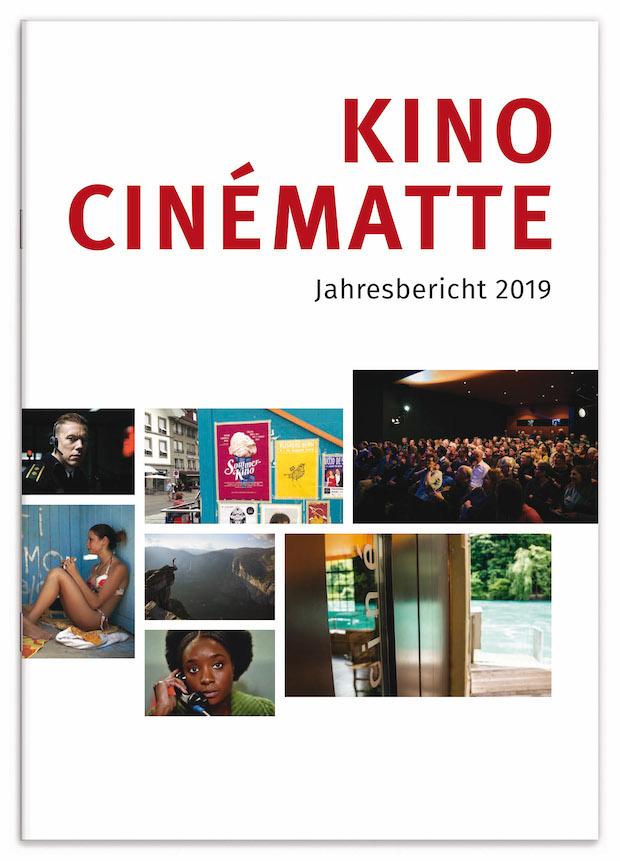 Cinematte Jahresbericht 2019 Front