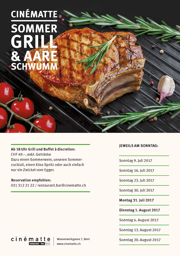 Sommer Grill 2017